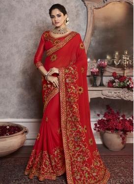 Art Raw Silk Classic Saree