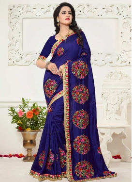 Art Raw Silk Trendy Saree