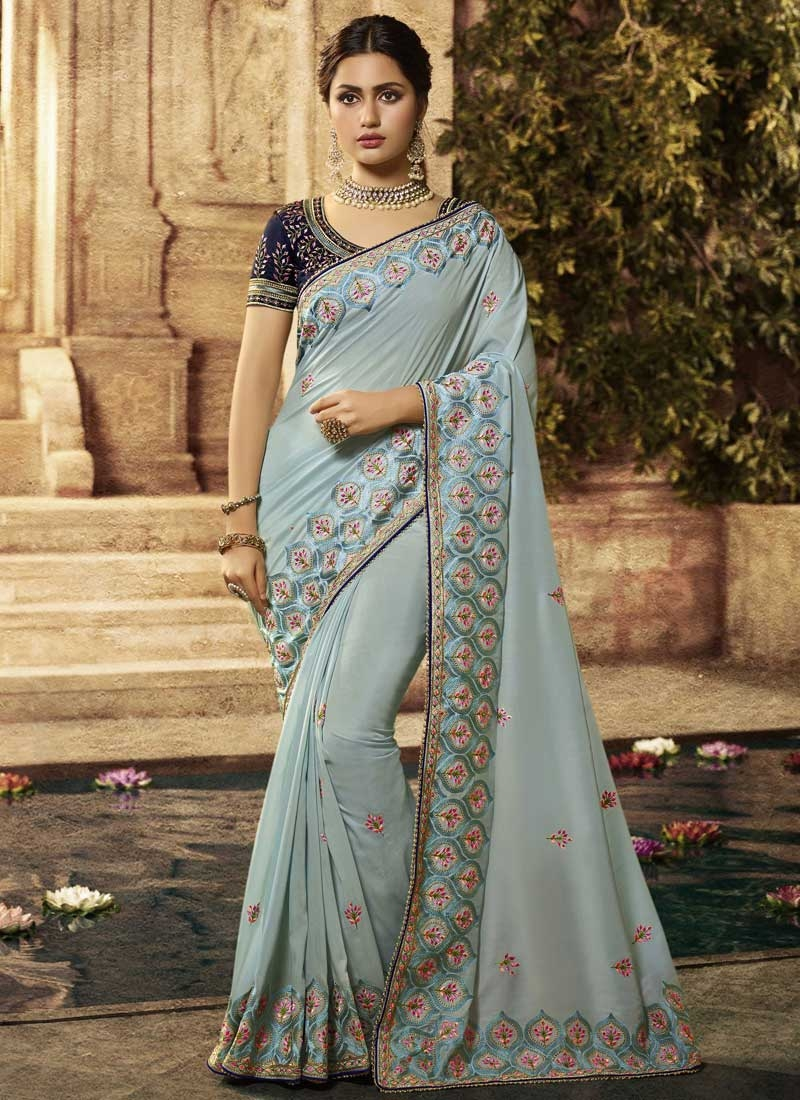 Art Silk Classic Saree For Ceremonial