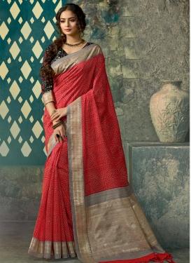 Art Silk Classic Saree For Festival