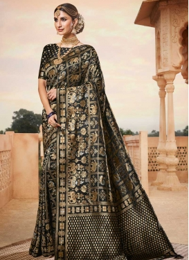 Art Silk Contemporary Style Saree