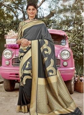 Art Silk Designer Traditional Saree For Ceremonial