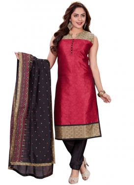 Art Silk Readymade Churidar Salwar Suit
