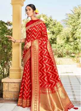 Art Silk Stone Work Designer Contemporary Style Saree