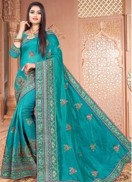 Art Silk Traditional Designer Saree