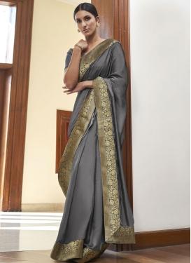 Art Silk Traditional Designer Saree For Ceremonial