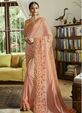 Art Silk Traditional Designer Saree For Party
