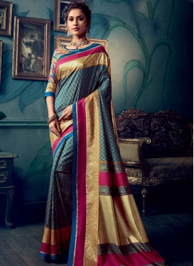 Art Silk Traditional Saree For Casual