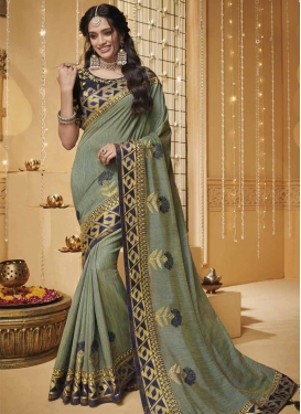 Art Silk Traditional Saree For Festival