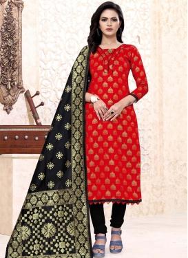 Art Silk Trendy Churidar Salwar Suit
