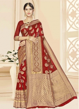 Art Silk Trendy Classic Saree For Casual