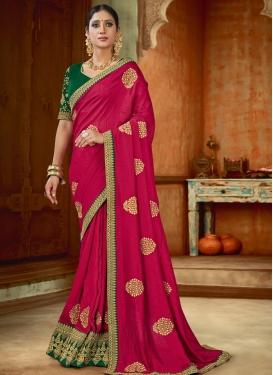 Art Silk Trendy Classic Saree For Festival
