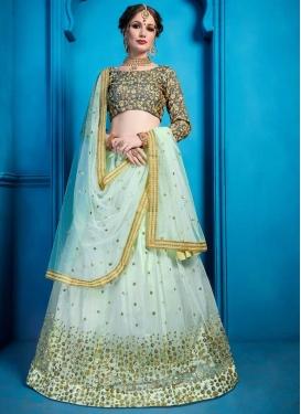 Art Silk Trendy Designer Lehenga Choli For Ceremonial