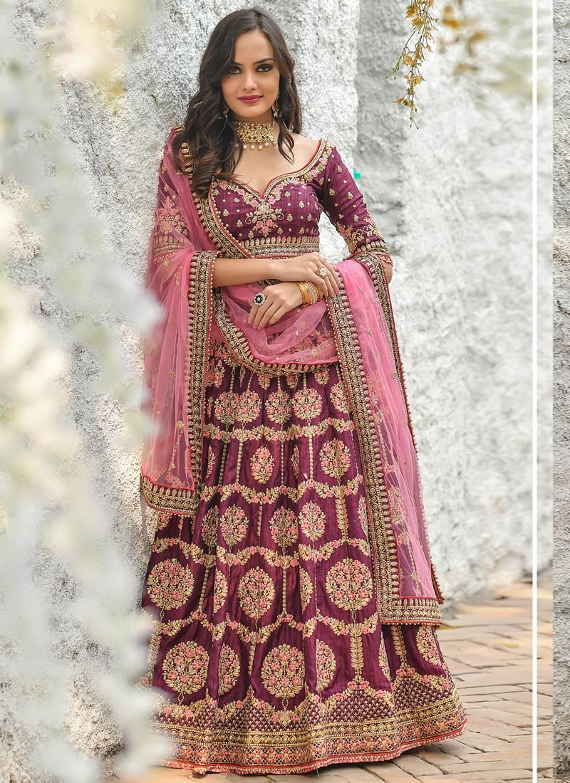 Art Silk Trendy Lehenga Choli