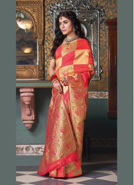 Art Silk Weaving Traditional Designer Saree