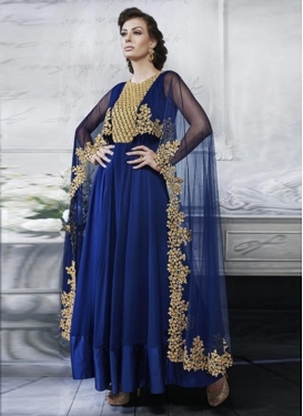 Artistic Embroidered Work Long Length Designer Suit