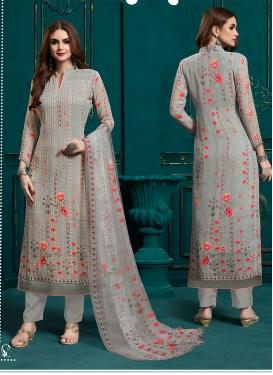 Aspiring Faux Georgette Festival Designer Pakistani Suit