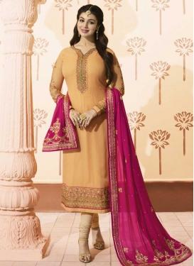 Ayesha Takia Embroidered Work Trendy Pakistani Salwar Suit