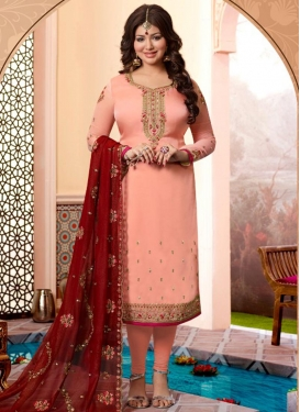 Ayesha Takia Trendy Straight Salwar Kameez For Festival