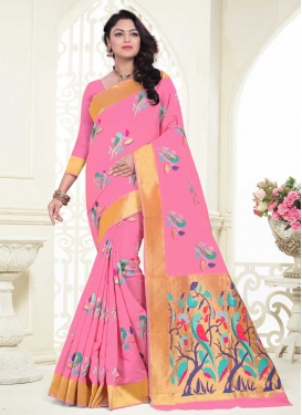 Banarasi Silk Classic Saree For Festival
