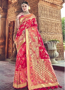Banarasi Silk Classic Saree For Party