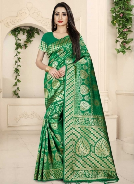 Banarasi Silk Contemporary Saree
