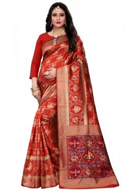 Banarasi Silk Designer Contemporary Saree