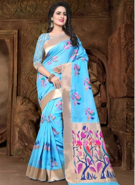 Banarasi Silk Designer Contemporary Saree