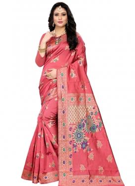 Banarasi Silk Designer Contemporary Saree For Ceremonial