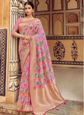 Banarasi Silk Designer Contemporary Style Saree