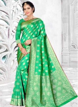 Banarasi Silk Designer Traditional Saree