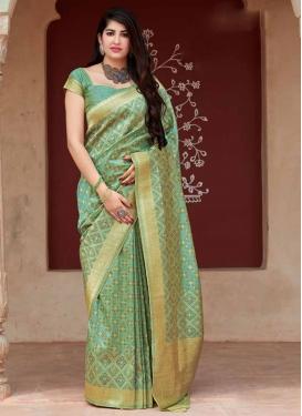 Banarasi Silk Designer Traditional Saree