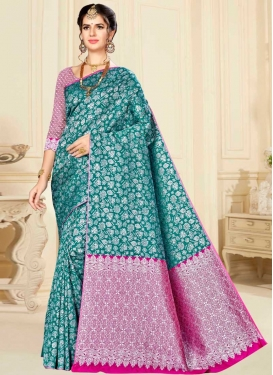 Banarasi Silk Designer Traditional Saree For Ceremonial