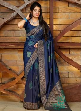 Banarasi Silk Designer Traditional Saree For Festival
