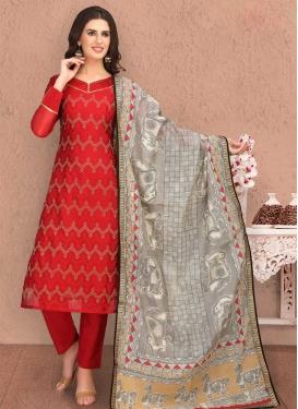 Banarasi Silk Pant Style Classic Salwar Suit
