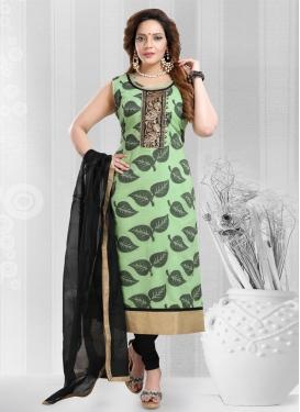 Banarasi Silk Readymade Churidar Salwar Kameez For Ceremonial