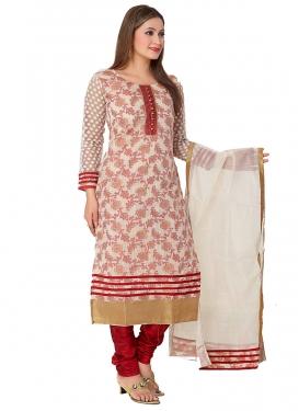 Banarasi Silk Readymade Salwar Kameez For Ceremonial