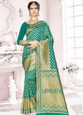 Banarasi Silk Thread Work Classic Saree