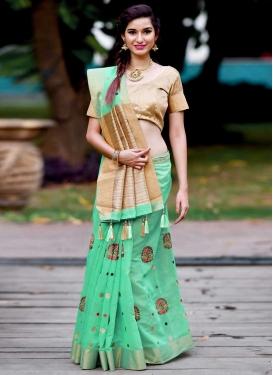Banarasi Silk Traditional Designer Saree For Ceremonial