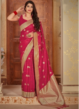 Banarasi Silk Traditional Designer Saree For Festival
