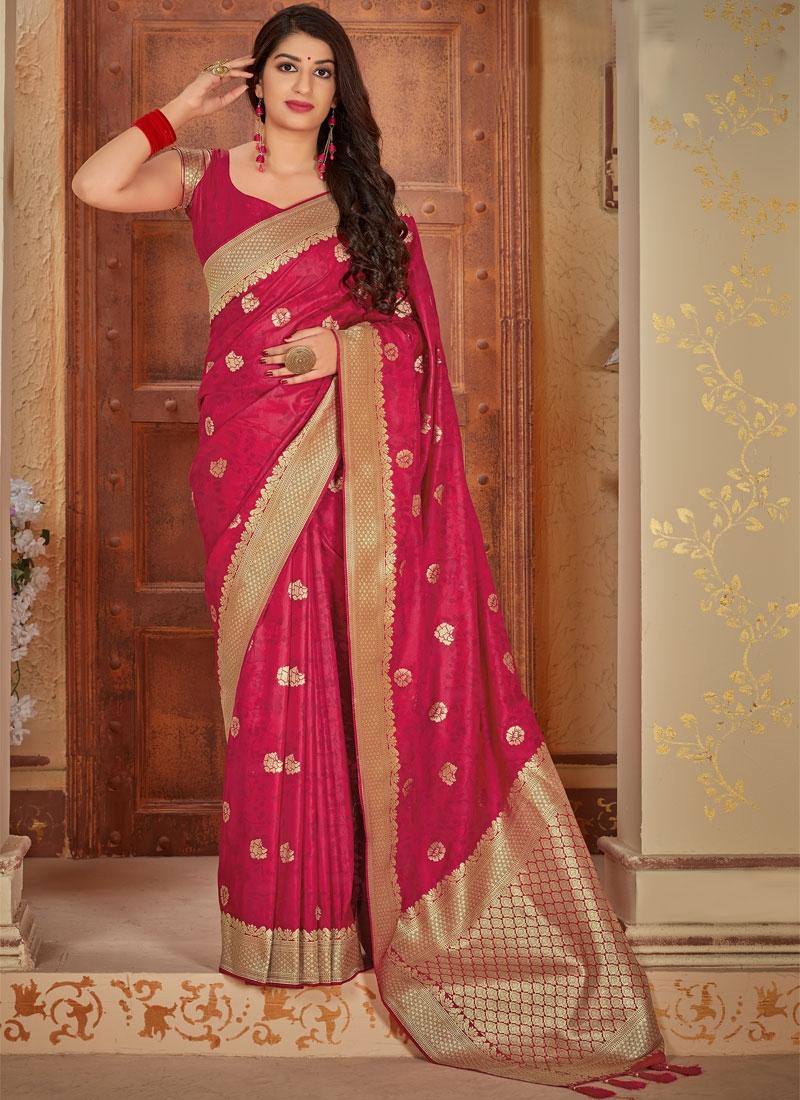 Banarasi Silk Traditional Designer Saree For Festival