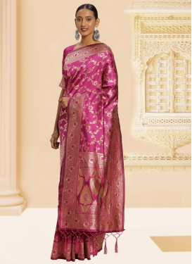 Banarasi Silk Traditional Saree For Casual