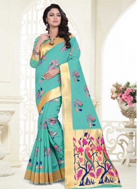 Banarasi Silk Trendy Classic Saree For Ceremonial