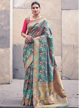 Banarasi Silk Trendy Designer Saree
