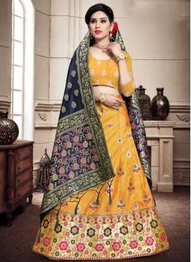 Banarasi Silk Trendy Lehenga Choli