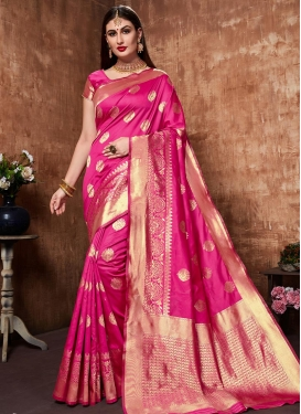 Banarasi Silk Trendy Saree