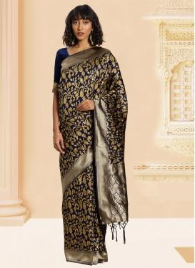 Banarasi Silk Trendy Saree For Casual