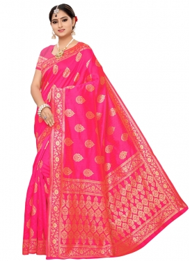 Banarasi Silk Woven Work Traditional Designer Saree