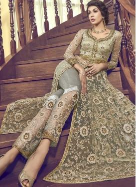 Banglori Silk Pant Style Designer Salwar Suit