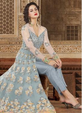 Banglori Silk Pant Style Designer Suit